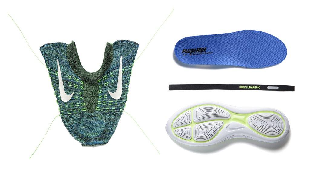 Zapatillas para correr Nike LunarEpic Flyknit - Partes
