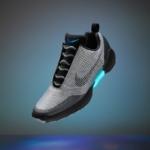 Zapatillas Nike Hyperadapt 1.0 color plateado - las zapatillas que se atan solas