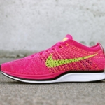 Zapatilas de running Nike Flyknit Racer color Santa Monica Sunset