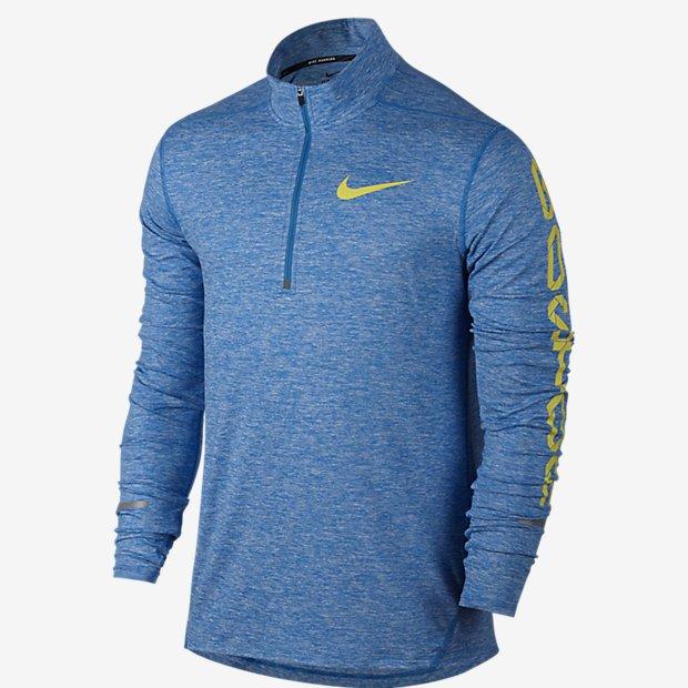 Abrigo medio cierre Nike DF Element Half Zip Boston 2016 - Hombre