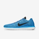 Zapatillas para correr Nike Free RN Flyknit - Lateral - Hombre