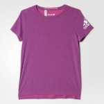 Remera para correr mujer adidas Climachill 2016