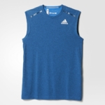 Musculosa para correr hombre adidas Climachill 2016