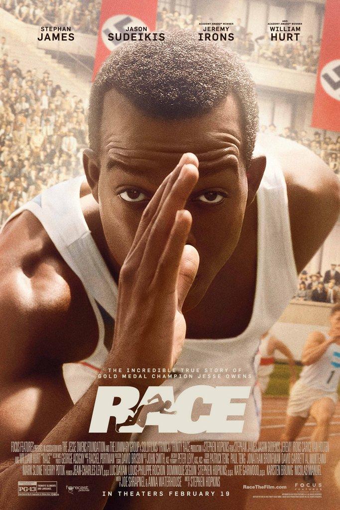 Película Race 2016 sobre Jesse Owens