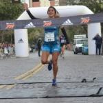 Media maratón 21K Rosario Mayo 2016 ganadora Rosa Godoy
