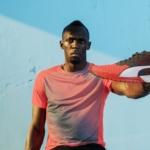 Usain Bolt con las zapatillas para correr Puma Ignite Dual