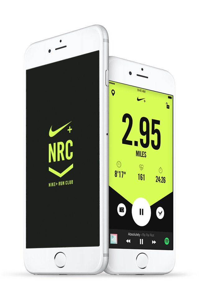 Nike+ Run Club app 2016