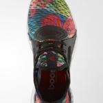 Zapatillas para correr PureBoost X color Core Black Ray Red adidas running