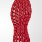 Zapatillas para correr PureBoost X color Ray Red suela adidas running