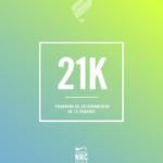 Programa de entrenamiento para mujeres de 14 semanas para correr 21K Nike+ Run Club