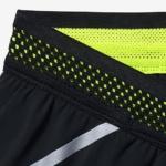 Short Nike Running Aeroswift 5 cm para mujer color negro