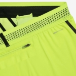 Short Nike Running Aeroswift 5 cm para mujer color volt