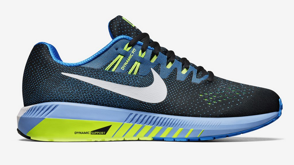 Zapatillas para correr nike Air Zoom Structure 20 Aniversario color Azul