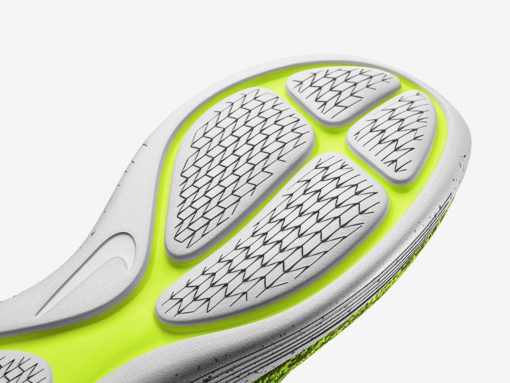 Zapatillas para correr Nike Running Lunarepic Flyknit Shield para hombre - Suela