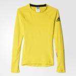 Camiseta mangas largas para mujer adidas Climaheat