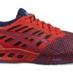 Zapatillas para correr Asics FuzeX color rojo para hombre