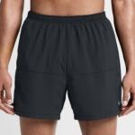 Short de running de 12,5 cm Nike Flex para hombre - todo negro