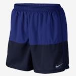 Short de running de 12,5 cm Nike Flex para hombre - bicolor azul y negro