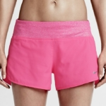 Short de running de 7,5 cm Nike Flex para mujer - color rosa