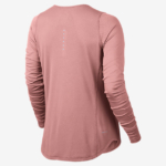 Camiseta Running Nike Zonal Cooling Relay manga larga para mujer - color rosa