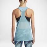 Camiseta con tirantes o musculosa Running Nike Zonal Cooling Relay para mujer - color celeste