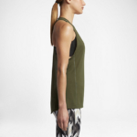 Camiseta con tirantes o musculosa Running Nike Zonal Cooling Relay para mujer - color verde