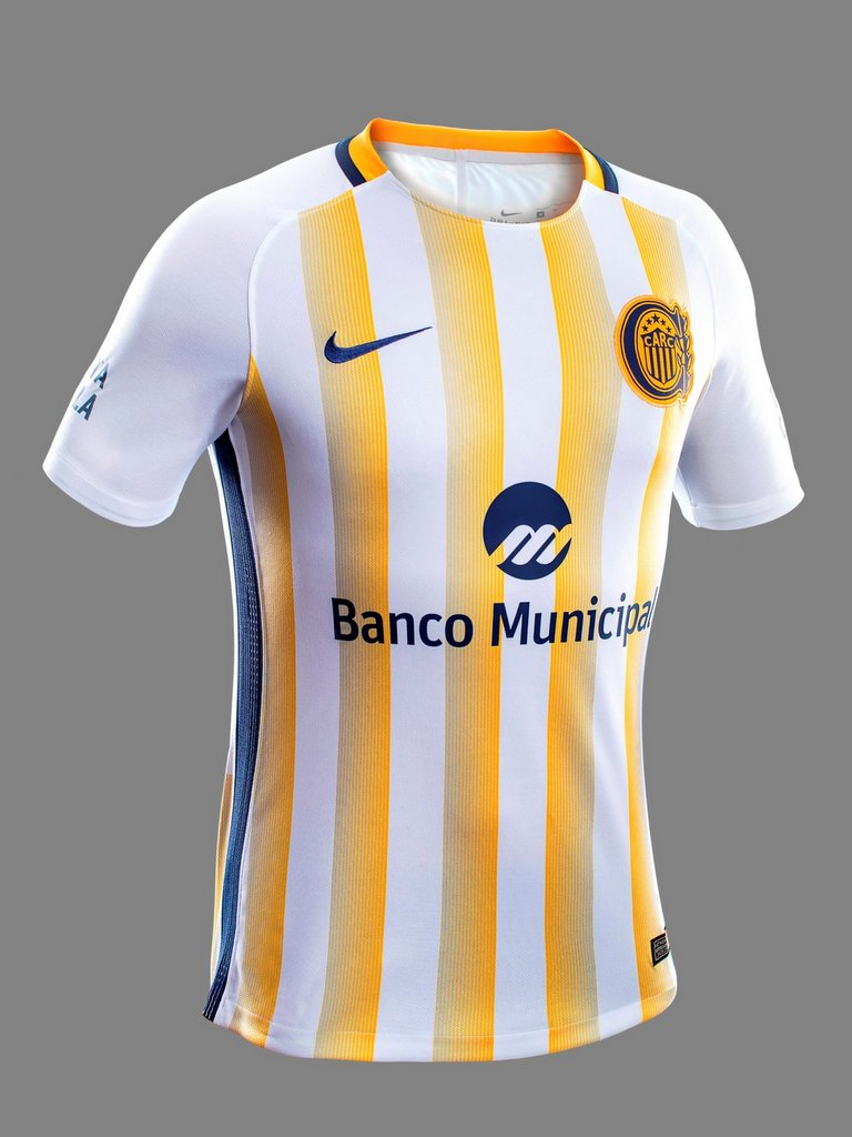 Camiseta de Rosario Central 2017 suplente Nike