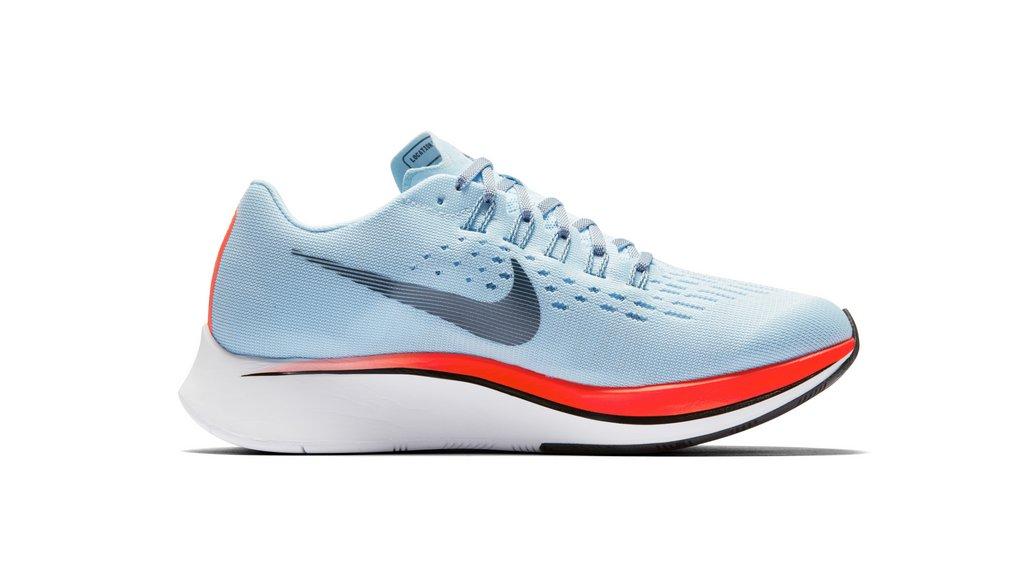 Zapatilla para correr Nike Zoom Fly 2017 - Perfil interno para mujer
