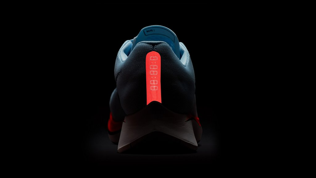 Zapatilla para correr Nike Zoom Fly 2017 - Elemento reflectivo posterior