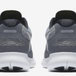 Zapatillas para correr Nike Free RN 2017 para hombre - detalle reflectante talón hombre