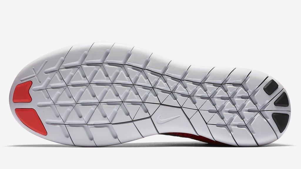 Zapatillas para correr Nike Free RN Flyknit 2017 detalle suela