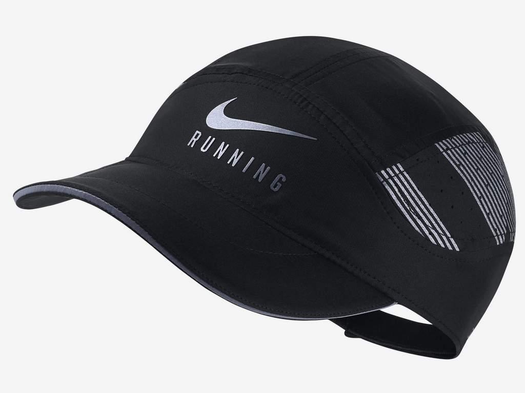 Gorra Nike AeroBill Elite Running ajustable color negro edición 2017