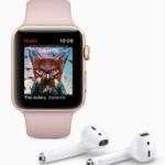 Apple Watch Series 3 música AirPods 2017