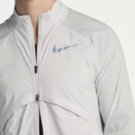 Rompeviento Nike Shield Convertible para hombre - detalle cierre doble