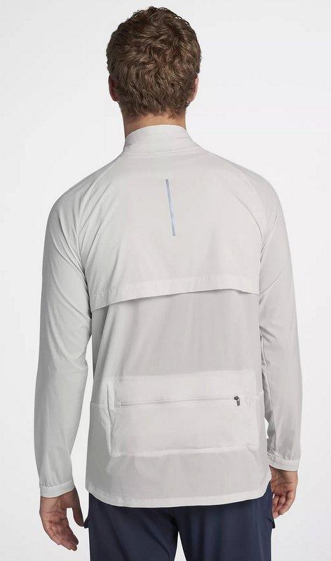 Rompeviento Nike Shield Convertible para hombre - detalle ventilación tejido respirable