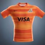 Camiseta naranja Nike Jaguares 2018 visita