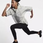 Chaqueta mangas cortas Nike Running Division color blanca unisex