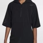Chaqueta mangas cortas Nike Running Division color negra unisex