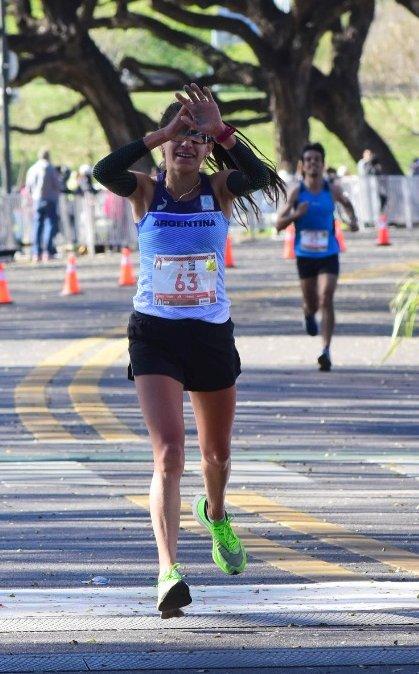 Daiana Ocampo - Maratón de Buenos Aires 2019
