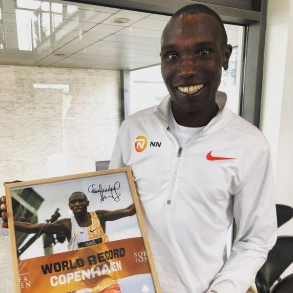 Geoffrey Kamworor récord 21K en Copenhague 2019