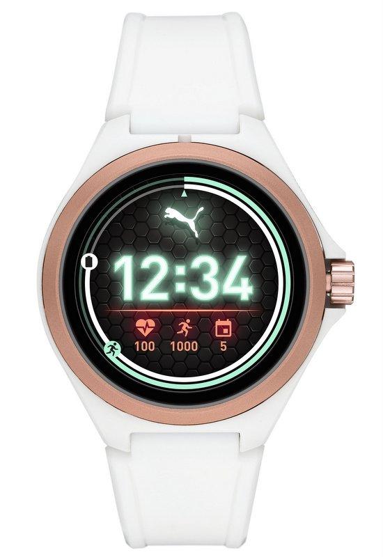 Puma Smartwatch 2019 con sistema Wear OS de Google y procesador Qualcomm color blanco