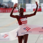 Brigid Kosgei ganadora y récord del Maratón de Chicago 2019