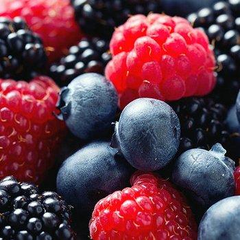 Batido de frutos del bosque (smoothie)