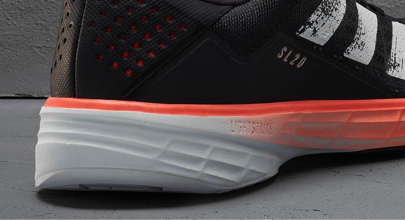 SL20 zapatillas adidas running 2020 detalle mediasuela